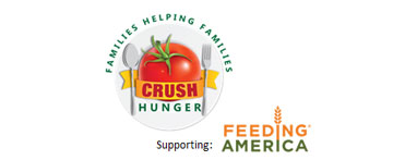 Red Gold Company Crush Hunger Feeding America