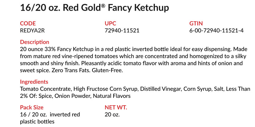 Red Gold Folds of Honor Ketchup_YA2R