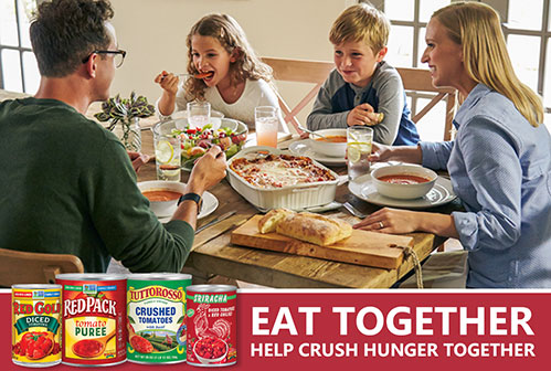 Crush Hunger with Red Gold