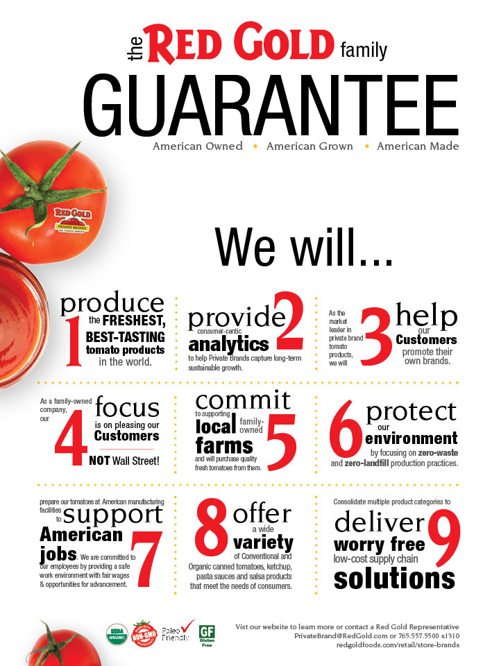 Red Gold Family Guarantee Private Label