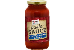 Red Gold Private Brand_M9P4_24oz Roasted Garlic and Herb Pasta Sauce - P Style
