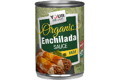 Red Gold Private Brand Organic Red Mild Enchilada Sauce RCY0_10 oz