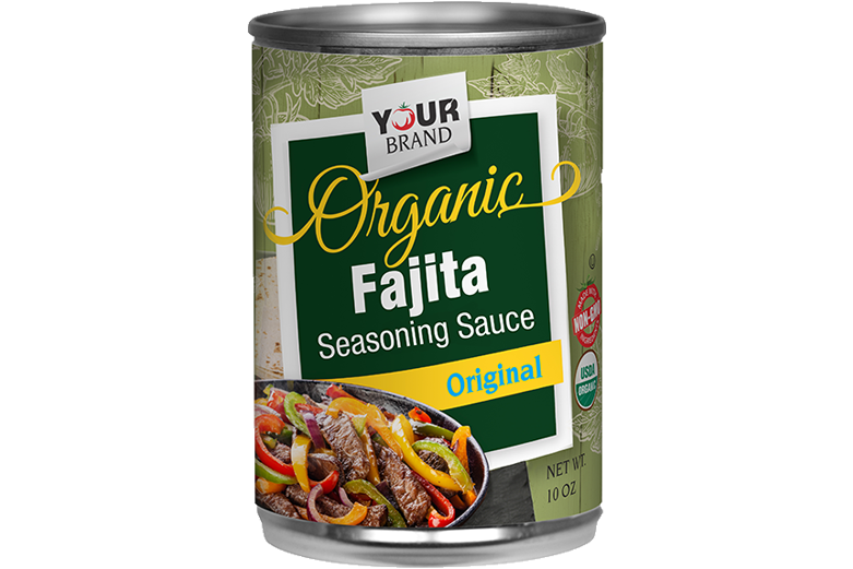 Red Gold Private Brand Organic Fajita Sauce TZY0_10 oz