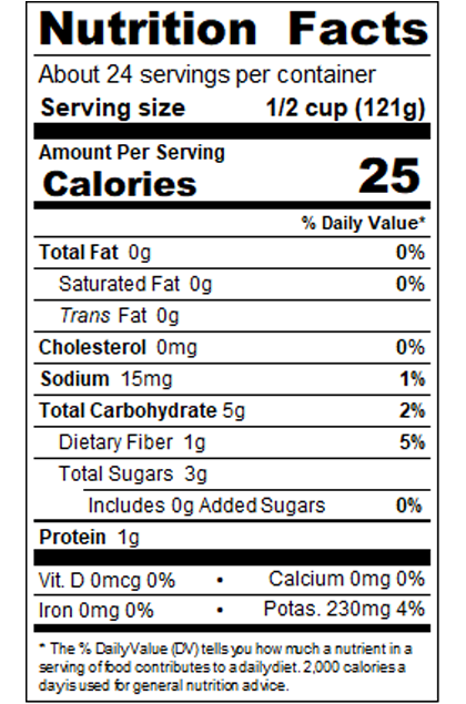 REDBQ9B_RedGold_DicedTomatoes_3_4_CutInJuice_NoSaltAdded_#10Can_102OZ_NutritionLabel