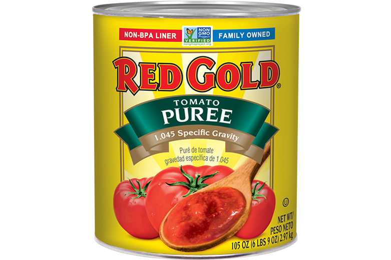 REDH499_RedGold_TomatoPuree_1.045SpecificGravity_#10Can_105OZ
