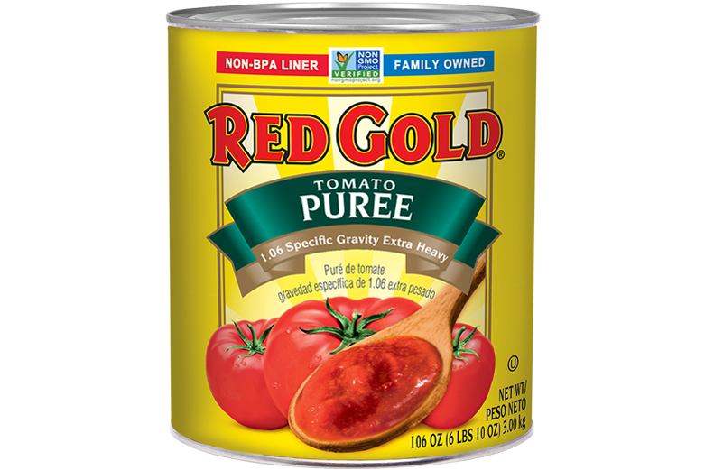 REDH69X_RedGold_TomatoPuree_1.06SpecificGravityExtraHeavy_#10Can_106OZ