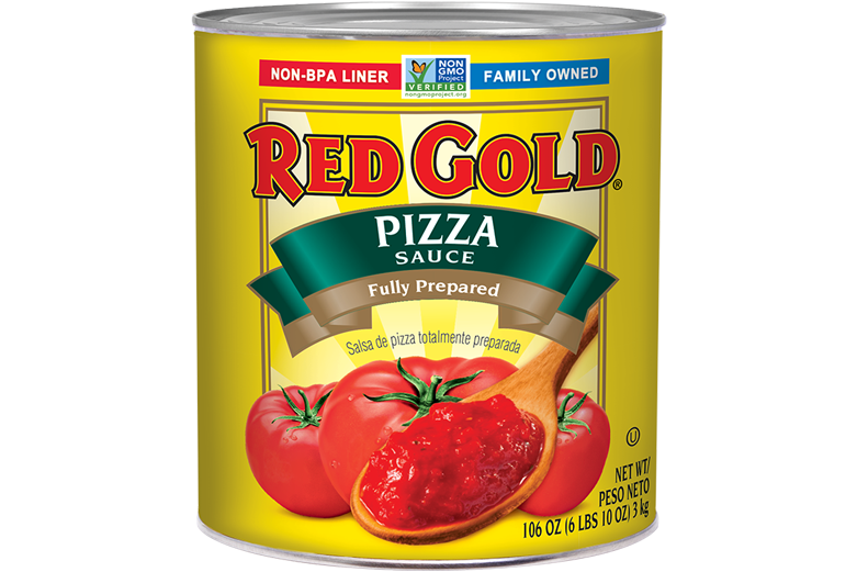 REDIL99_RedGold_PizzaSauceFullyPrepared_#10Can_106OZ_Foodservice