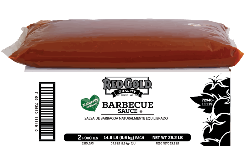 REDOA7D_RedGold_BarbecueSauce_Pouch_1.5gal_Foodservice