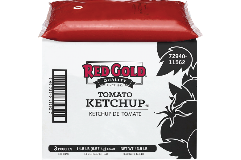 REDY53H_RedGold_Ketchup_Pouch_1.5gal_Foodservice