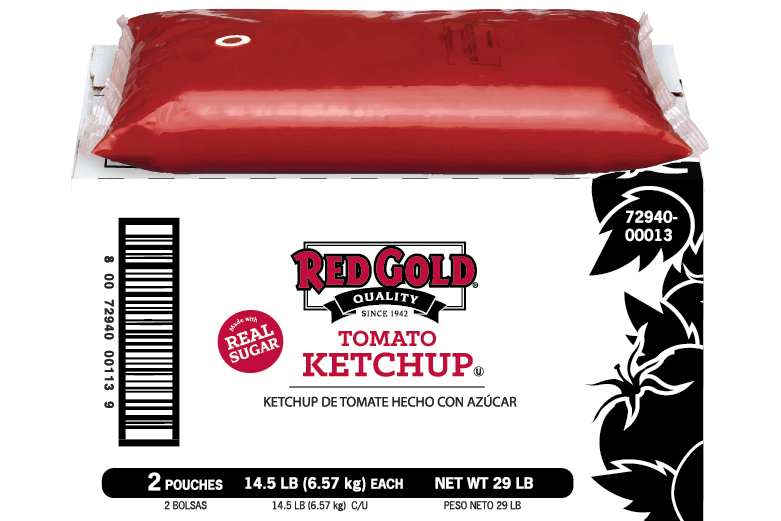 REDYS7D_RedGold_KetchupSugar_Pouch_1.5gal_Foodservice
